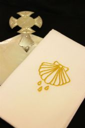 Baptismal Towel - Shell design